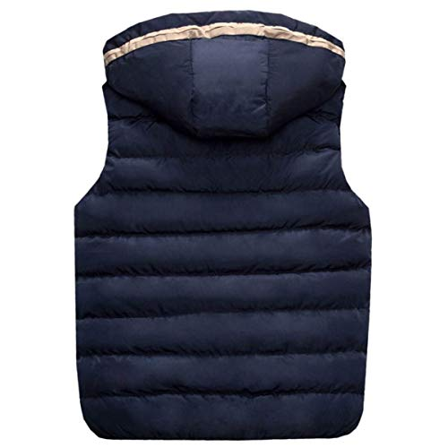 Di Di Inverno Gilet Autunno Gilet Cappuccio Traspirante Moda Moda Moda Con Nero Esterno Cappotto Casual Gilet Cotone Da Uomo Caldo twxqPTBX