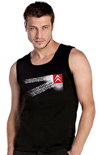 Citroen Auto Logo car schwarz Top Tank T-Shirt -2631