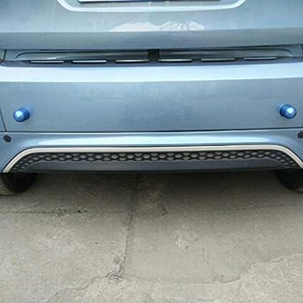 Asdomo 2 Protezioni Anti collisione per paraurti Posteriore Auto per Benz Smart