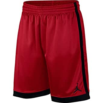 Nike Men's FRANCHISE Short Shimmer, Black(Gym Red/Black/Black687), 2X-Large