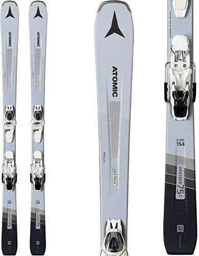 Atomic Vantage 75 C Skis w/ L10 GW Bindings Womens