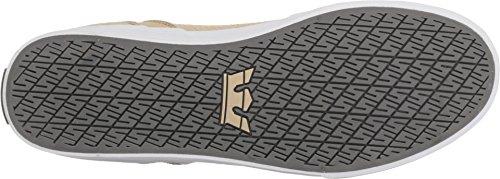 Supra VAIDER S28058 - Zapatillas de deporte de cuero para hombre Mojave/Dark Grey