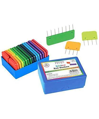 0417 Rainbow Knit Blockers-Package of 20 ()