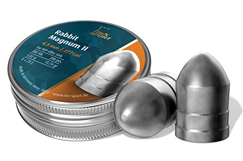 Haendler & Natermann H&N Rabbit Magnum II Airgun Pellets .177/15.74 Grains (200 Count) (Best Pellet Gun For Rabbits)