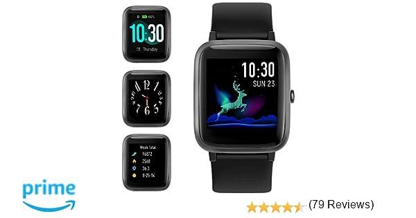 Smart Watch Bluetooth 5.0 Reloj Inteligente Hombre Mujer IP68 GPS ...