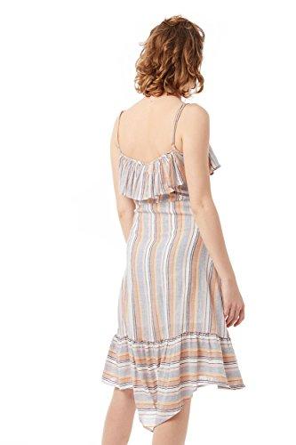Lois weiß Weiß Kleid Damen Beige rq0wrRf