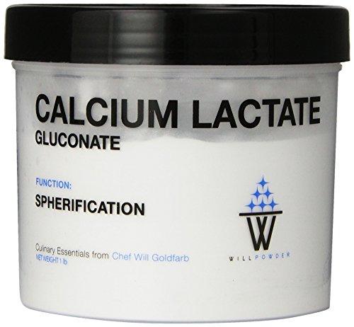 WillPowder Calcium Lactate Gluconate, 16-Ounce Tub