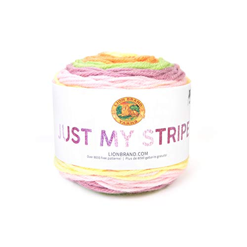 Lion Brand Yarn Just My Stripe Hometown Yarn, Tutti ()