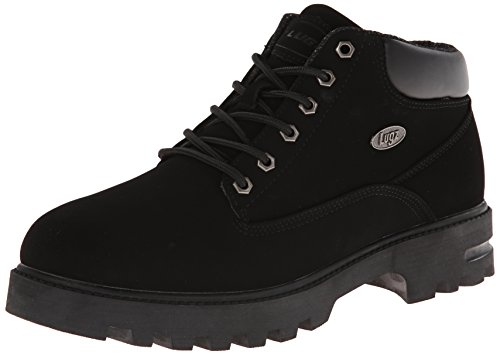 Lugz Men's Empire WR Thermabuck Boot, Black Durabuck, 13 D US ()