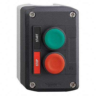 Push Button Control Station, 1NO/1NC, ()