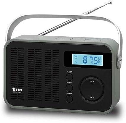 TM Electron TMRAD212 - Radio Digital PLL FM/Am portátil, Color Negro: Amazon.es: Electrónica