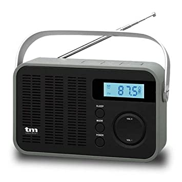 TM Electron TMRAD212 - Radio Digital PLL FM/Am portátil, Color Negro: Amazon.es: Electrónica