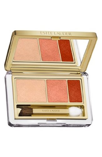 Estee Lauder Pure Color Instant Intense Eyeshadow Trio, No. 07 Beach Metals, 0.07 Ounce