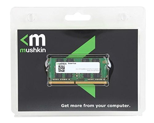 Mushkin ESSENTIALS Series – DDR4 DRAM – 16GB Memory 2Rx8 Single Module SODIMM – 2133MHz (PC4-17000) CL-15 – 260-pin 1.2V Laptop Notebook RAM – Low-Voltage – MES4S213FF16G28 by Mushkin (Image #2)