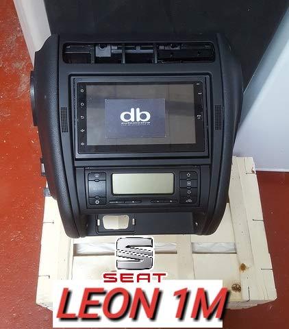 dbauto Consola Doble DIN 2 Seat Leon 1m: Amazon.es: Coche y moto