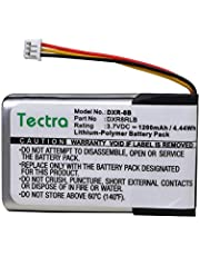 Tectra 1200mAh DXR-8 Replacement Battery for Infant Optics DXR-8 Video Baby Monitor, SP803048 Lithium Ion Rechargeable Battery