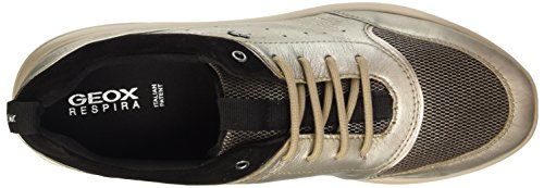 Geox D Ophira B, Zapatillas para Mujer Gold (CHAMPAGNE/CHESTNUTCB56J)