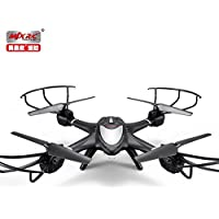 MJX X401H FPV Quadcopter Drone RTF Explorer Copter with Altitude-Hold HD Camera Real Time Transmission One Key Return Headless Helicopter Left and Right Hand Switch Mode Predator - Black