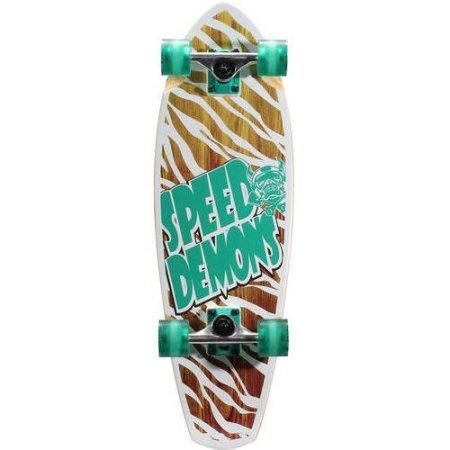 Speed Demons V-Lam Cruiser Complete Skateboard Carbon steel, 29