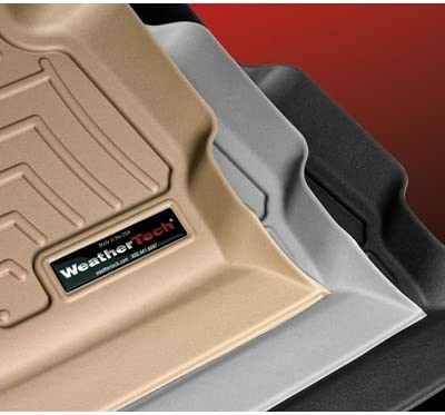WeatherTech Custom Fit Front FloorLiner for Hyundai Santa Fe Black