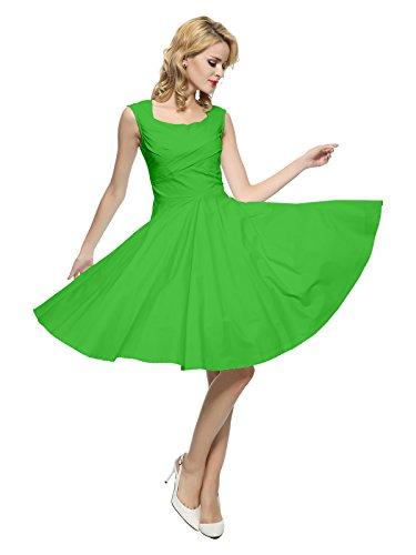 Vintage 50s 60s Green - 5