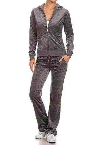 Velour Pants Suit - 8