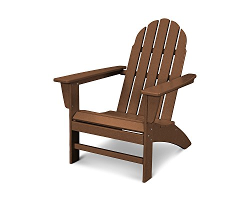 POLYWOOD Vineyard Adirondack Chair (Teak)