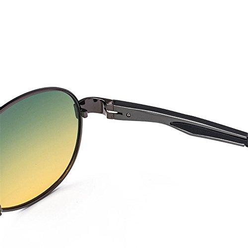 Sol polarizadas al de Deportes Libre Volar de Adecuado Piloto Gafas Mujer Gafas Gafas para Sol Gafas Rana Sol de Aire polarizadas para de de Viajar polarizadas Espejo piloto 48xqnUA5T