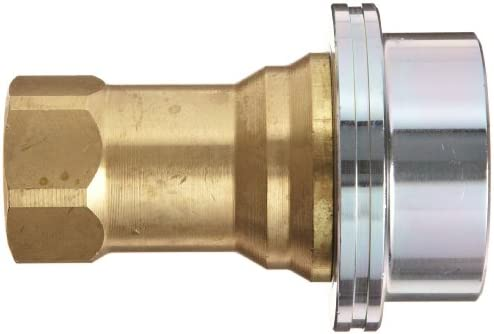 1 Coupling x 1 NPT Female Dixon B16-800S Solid Brass Steam Quick Disconnect Boss Fitting Poppet Valve Coupler
