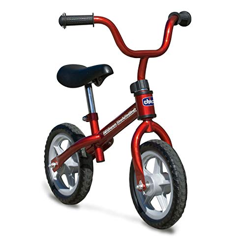 chicco Red Bullet Balance Bike for Children 2-5 Years, Kids Bike Without Pedals for Equilibrium, with Adjustable…