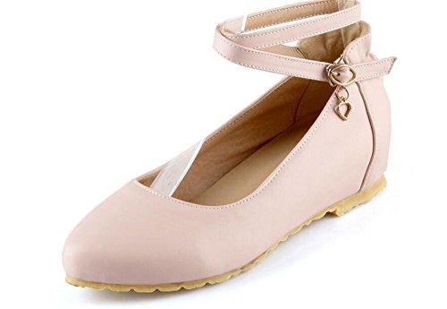 LDMB Chaussures peu profondes filles de la bouche de filles pointue pointe faible pour aider les chaussures , pink , 36