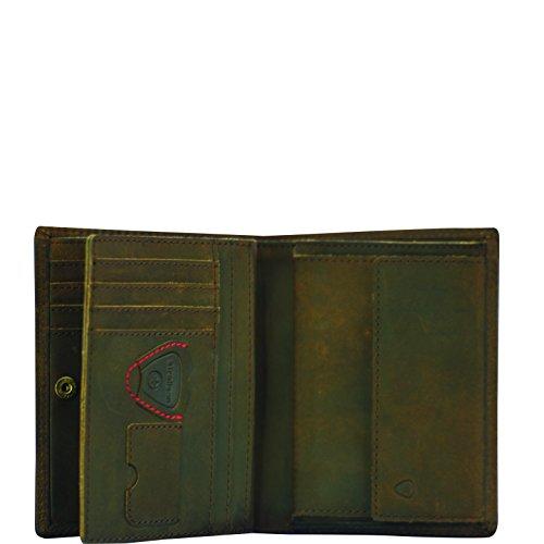 Strellson 4010002132 bolso, Moorgate V8, de color marrón oscuro