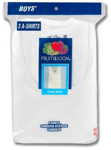Fruit of the Loom Big Boys' A-shirt   #501B