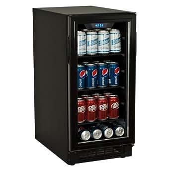 Koldfront 80 Can Built-In Beverage Cooler - Black