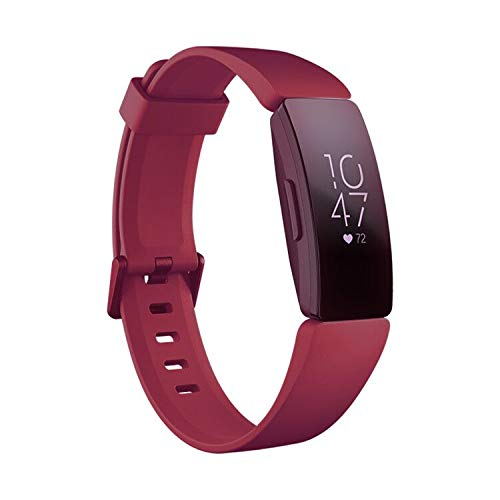 Kartice Compatible Fitbit Inspire Bands/Fitbit Inspire HR Band,Adjustable Soft Silicone Sports Replacement Accessories Bands for Fitbit Inspire/Inspire HR Fitness Tracker. ()