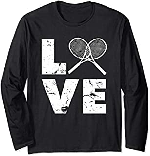 [Featured] Love Tennis Gear for Tennis Players, Coaches, Pros Long Sleeve in ALL styles | Size S - 5XL