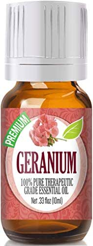 Geranium Essential Oil - 100% Pure Therapeutic Grade Geranium Oil - 10ml