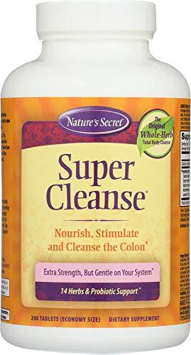 - Nature's Secret (NOT A CASE) Super Cleanse, 200 Tablets