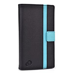 Kroo Blue Universal Case With Camera Slide for Samsung Galaxy S5 Mini