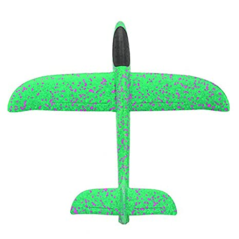 Mano Espuma De Avión Tiro Planeador Burbuja Color Rotonda N8vm0nw