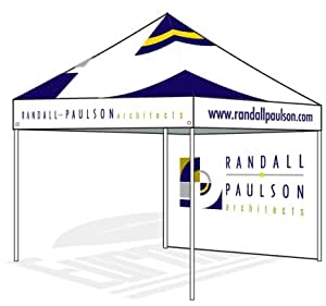eurmax custom printed canopy tent 10 x 10 pop up canopy printed custom tent with. Black Bedroom Furniture Sets. Home Design Ideas