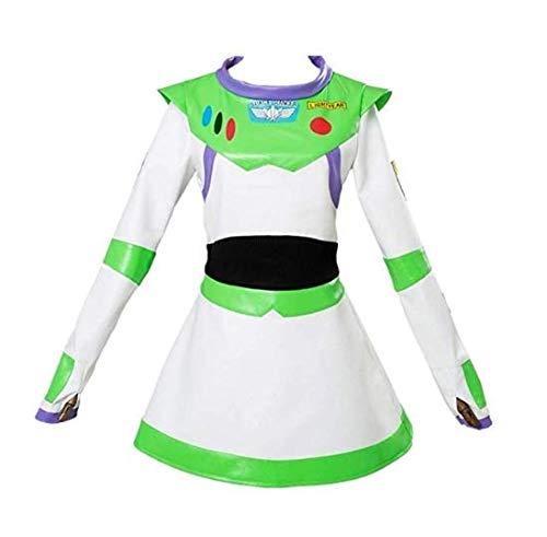 Buzz Lightyear Costume Fancy Dress Deluxe Cosplay Suit