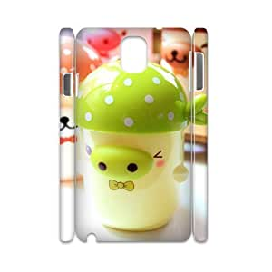 Custom Cover Case with Hard Shell Protection for Samsung Galaxy Note 3 N9000 3D case with Cartoon pig lxa#974947
