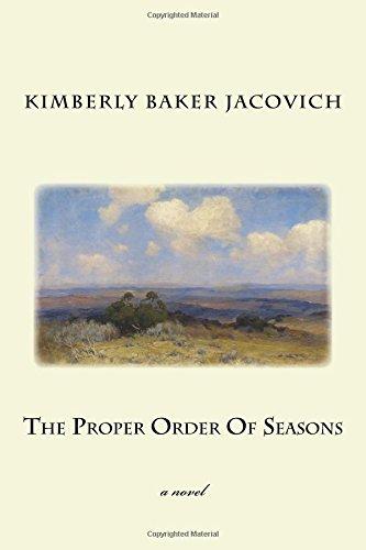 The Proper Order Of Seasons pdf epub