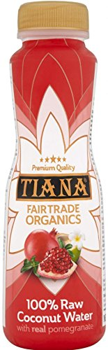 Tiana Coconut Water Pomegranate 350ml (Pack of 12) by TIANA