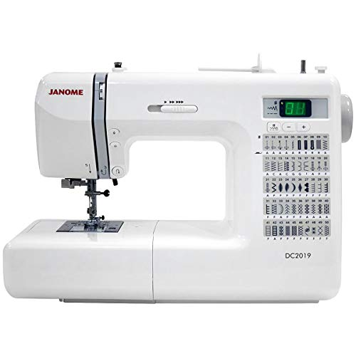 Janome DC2019 Computerized Sewing Machine with Bonus Bundle (2019 Best Sewing Machines)