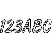 Hardline Products WHBKG400 White/Black Number Factory Matched Registration Kit