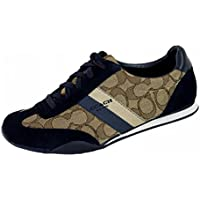 Women's Kelson Signature Sneaker,Khaki/Midnight,6 M US