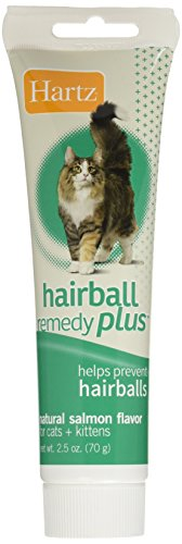 HARTZ Hairball Remedy Plus Salmon Flavored Paste for Cats and Kittens