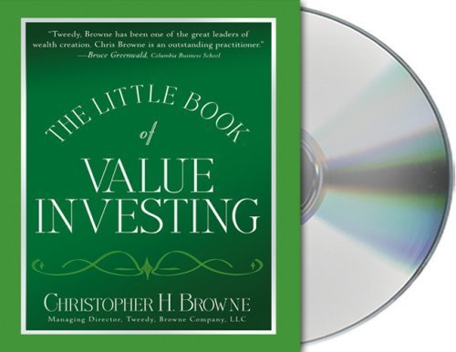 The Little Book of Value Investing by Browne, Christopher H. (October 17, 2006) Audio CD